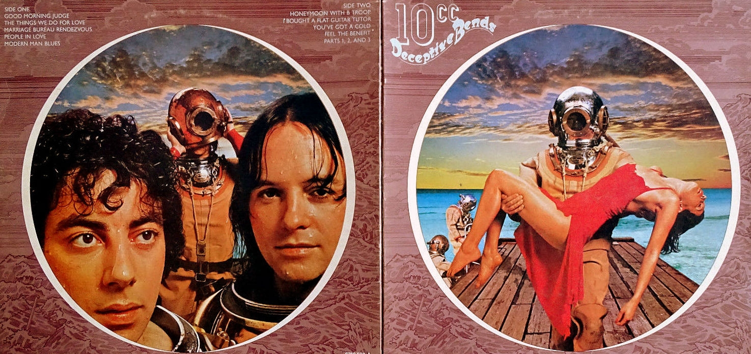1 HIP LP 10cc Deceptive Bends MERCURY 1977 3