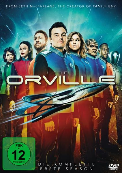 dvd 11 18 Serien The Orville