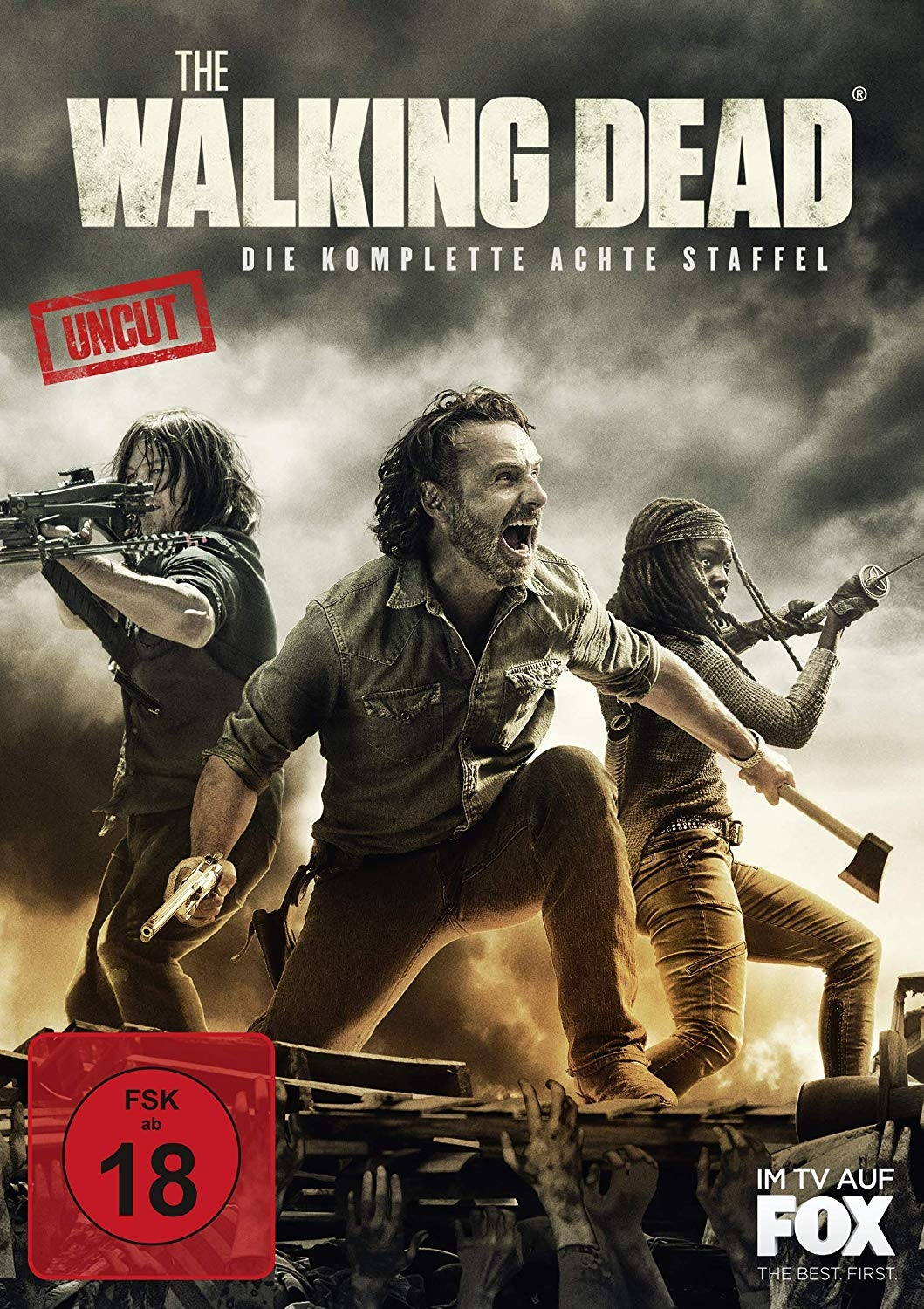 dvd 11 18 walking dead 8