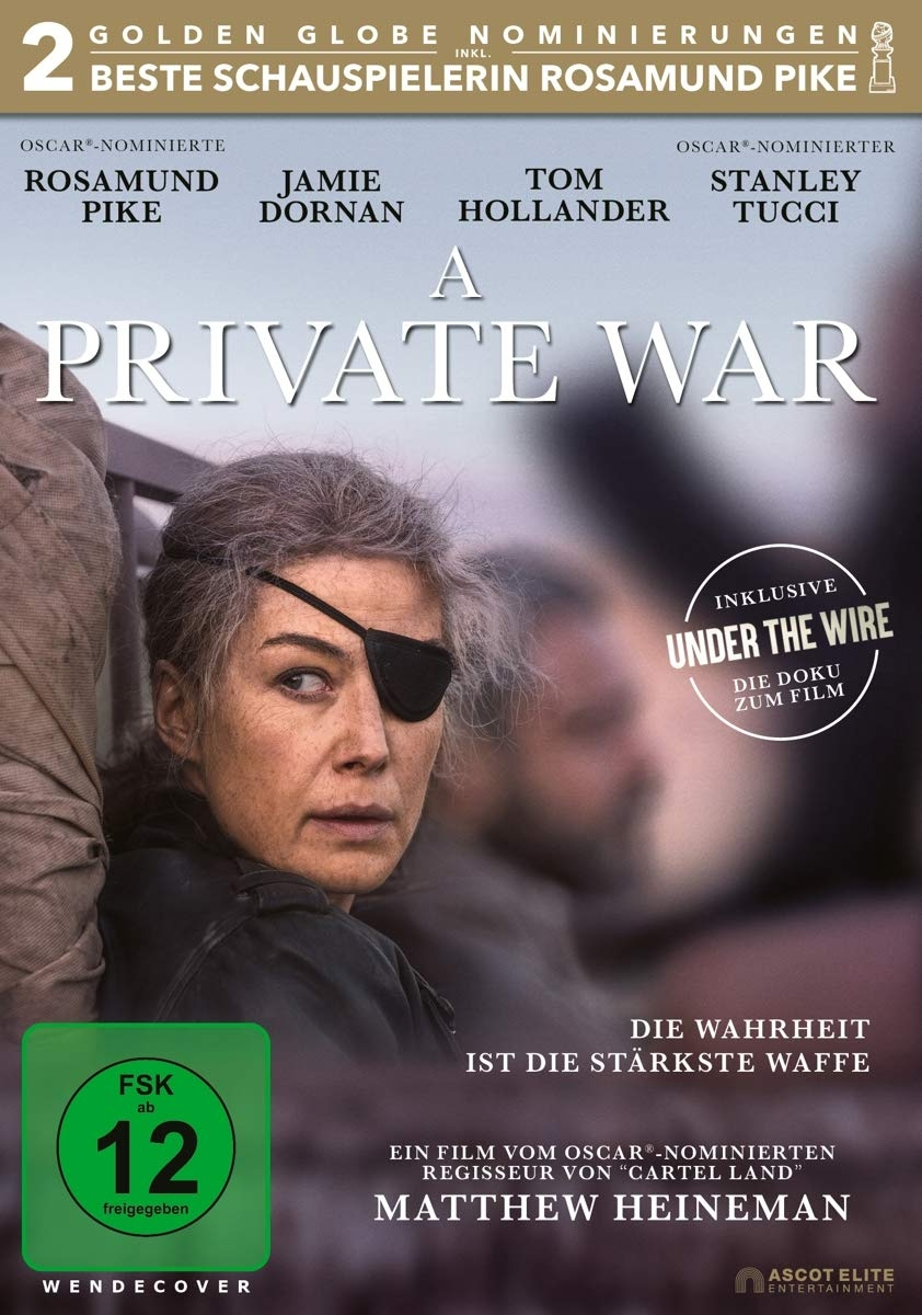 A PRIVATE WAR / UNDER THE WIRE